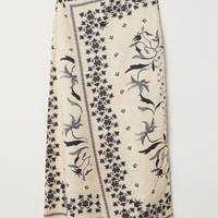 H&M Patterned Skirt $59.99