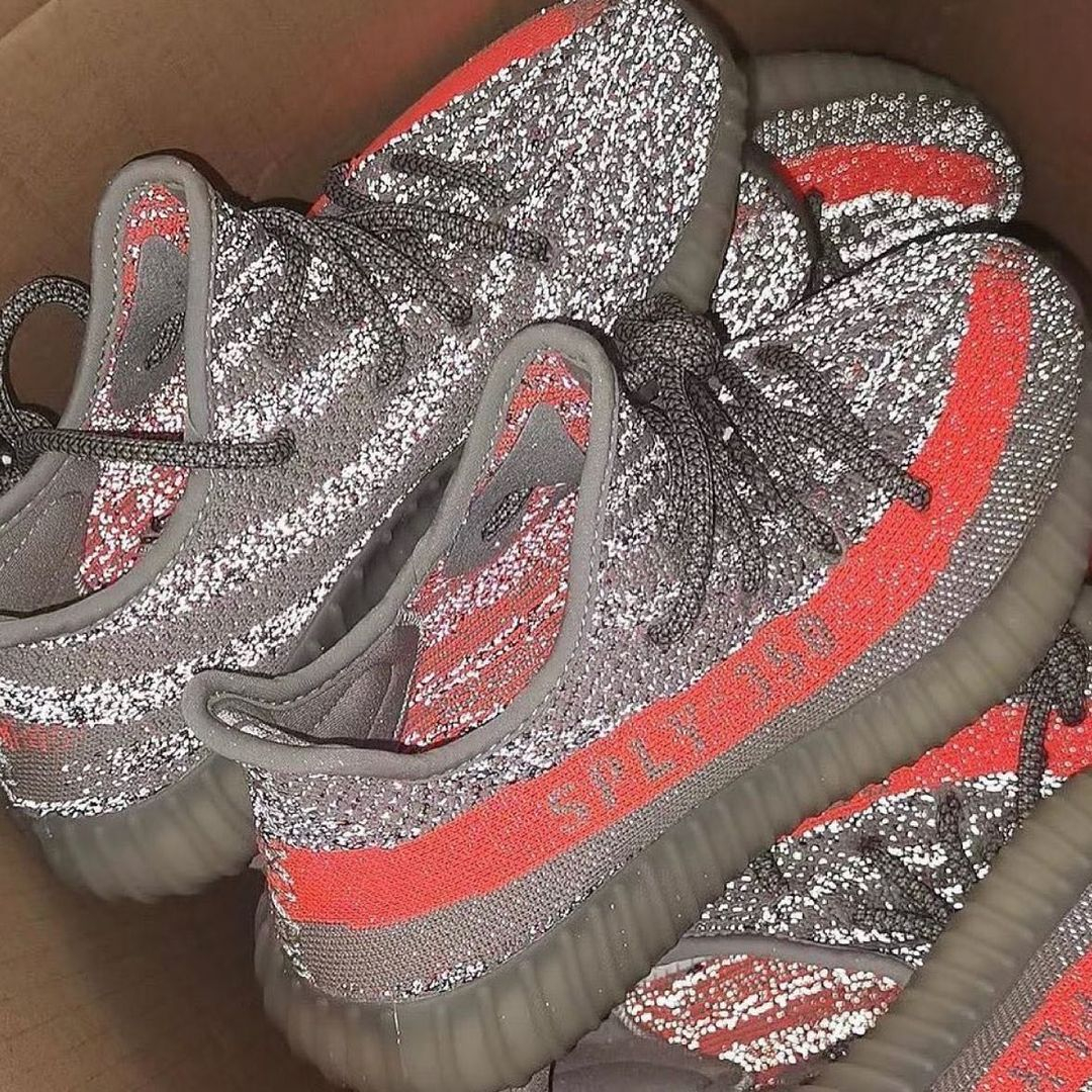 Image of Adidas Yeezy Boost 350 V2 Beluga Reflective Sneakers Shoes