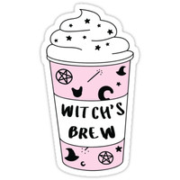 Witch's Brew Coffee ♥ Trendy/Hipster/Tumblr Meme by Bratsy ♥