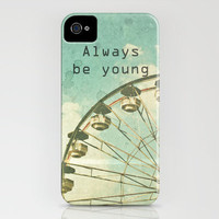 Always Be Young iPhone Case by Joy StClaire | Society6
