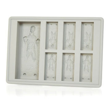 Han Solo in Carbonite Silicone Tray - buy at Firebox.com
