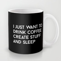 Typography Mug by Quotes