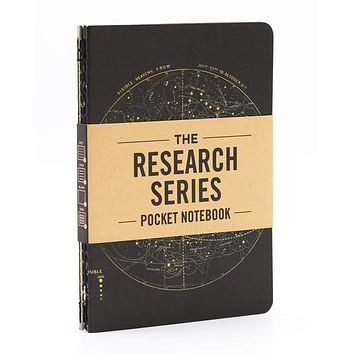 The Research Series - Astronomy Pocket Notebook 4-pack