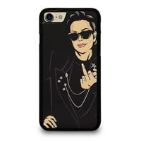 KRIS JENNER MIDDLE FINGER iPhone 4/4S 5/5S/SE 5C 6/6S 7 8 Plus X Case