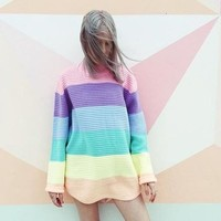 Awesome Sweater Ice-cream Tops Needles [69652316175]