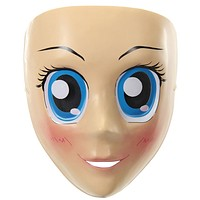 Anime Mask with Blue Eyes