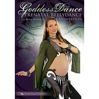 """Goddess Dance: Prenatal Belly Dance & Meditation"" DVD"