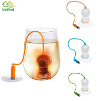 Deep Coffee Tea Infusers Makers Diver Loose Leaf Strainer Bag Mug Filter Kitchen Accessories Barware Tools