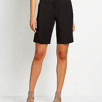 Eileen Fisher Tapered Linen Shorts