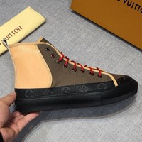 LV Louis Vuitton Fashion Casual Running Sport Shoes Sneakers Slipper Sandals High Heels Shoes