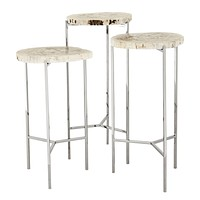 Petrified Wood Side Tables | Eichholtz Newson
