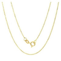 Baby Ball & Chain Necklace