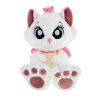 "Disney Parks Marie Big Feet 10"" Plush New with Tag"
