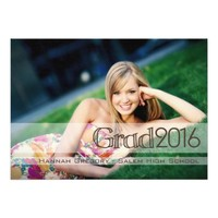 Photo 2016 Graduate Party Invitation