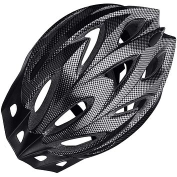 Visor Lightweight Cycling Helmet Adjustable Size for Adult Mountain Road Biking