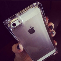 Transparent Protective Jelly Silicone iPhone Case