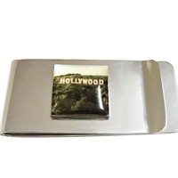 Hollywood Sign Money Clip