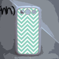 Samsung Galaxy 3 Case Chevron Pattern