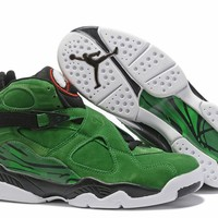 Air Jordan 8 Retro Green/White Size 40-47