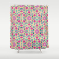 ARABESQUE Shower Curtain by Nika
