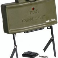 Airsoft M18A1 Claymore Mine - paintball grenade