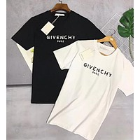 GIVENCHY Popular Women Men Casual Print T-Shirt Top