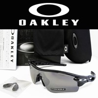 OAKLEY Radarlock Path Asia Fit Polished Blk / Prizm Black Sunglasses OO9206-4138