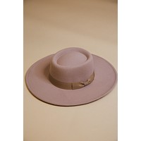 Made of Magic Faux Felt Wide Brim Hat, Light Taupe