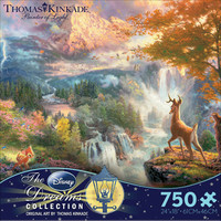 Thomas Kinkade Disney Dreams - Bambi's First Year Jigsaw Puzzle