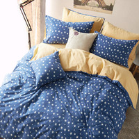 Hot Deal Bedroom On Sale Thicken Stylish Strong Character Pastoral Style Cotton Bedding Set [6451762630]