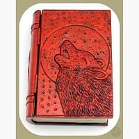 Wolf Moon Book Keepsake Box