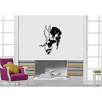 Wall Stickers Vinyl Decal Sexy Girl Beautiful Fairy  (ig1020)