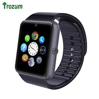 TROZUM Smartwatch GT08 Smart watch Bluetooth Clock Sync Notifier Support Sim Card Bluetooth Connectivity  for IOS Android Phone
