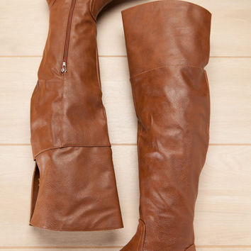 This Is your Time Chestnut Boots