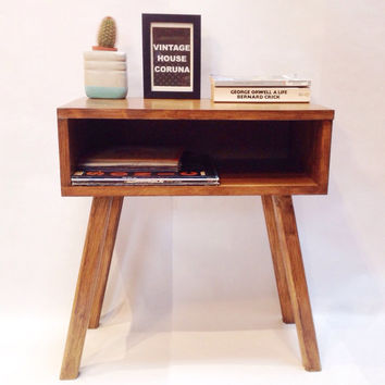 Made To Order, Nightstand, Bedside Table, Handmade Table, Wooden Table, Side Table, Scandinavian Table
