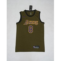 Los Angeles Lakers #8 Kobe Bryant NBA Salute To Service Jerseys