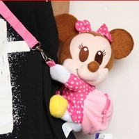 """DISNEY MINNIE MOUSE CROSSBODY MINI BAG 9.5"""" .LIMITED EDITION.SALE !!! SALE !!!! LOWEST PRICE & FREE US SHIPPING. ORDER SOON."""