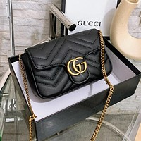 GUCCI Embroidered Love Shoulder Bag Shoulder Bag Messenger Bag