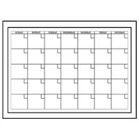 White Monthly Calendar