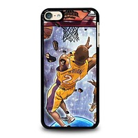 LA LAKERS KOBE BRYANT JUMP ART iPod Touch 6 Case