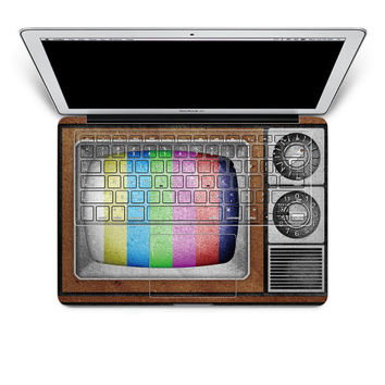 TV macbook decal laptop keyboard sticker macbook decal keyboard decal/ mac decal sticker/ macbook keyboard cover decal /iPhone decal