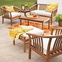 St. Lucia Outdoor Living Collection - Outdoor Seating and Lounge - Cost Plus World Market
