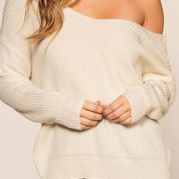 Twist And Shout Sweater - Ivory