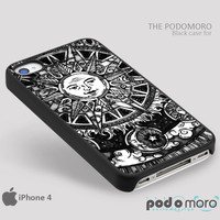 Sun And Moon Art for iPhone 4/4S, iPhone 5/5S, iPhone 5c, iPhone 6, iPhone 6 Plus, iPod 4, iPod 5, Samsung Galaxy S3, Galaxy S4, Galaxy S5, Galaxy S6, Samsung Galaxy Note 3, Galaxy Note 4, Phone Case