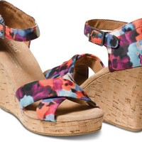 Oahu Women's Sustainable Strappy Wedges