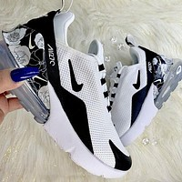 Nike AIR MAX 270 three-generation fashion ladies casual sports air-cushion shoes