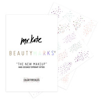 """BeautyMarks """"The New Makeup"""" - Color Freckles"""