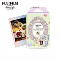 2016 New 10pcs Fujifilm Instax Mini Film Macaroon For Mini 8 7s 7 50s 50i 90 25 dw Share SP-1 Polaroid Instant Photo Camera