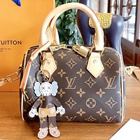 Inseva Louis Vuitton LV Fashion New Monogram Leather Shopping Leisure Shoulder Bag Handbag Crossbody Bag