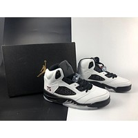 AIR JORDAN 5 RETRO WHITE \